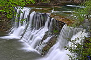 Liquid Framed Prints - Majestic Falls Framed Print by Robert Harmon
