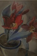 Signed Originals - Majestic Floral Watercolor  by Paul Immel