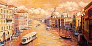 Gondolier Originals - Majestic Grand Canal by Joanne Morris