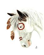 Majestic Horse Series 41 Print by AmyLyn Bihrle