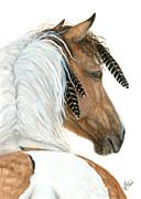Majestic Horse Series 94 Print by AmyLyn Bihrle