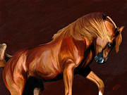 Wild Horses Digital Art Prints - Majestic Print by James Shepherd