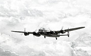 Avro Prints - Majestic Lanc Print by Peter Chilelli