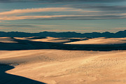 Gypsum Framed Prints - Majestic Morning At White Sands Framed Print by Sandra Bronstein