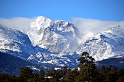 Majestic Mountains Print by Tranquil Light  Photography