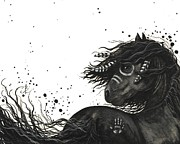 Majestic Mustang 53 Print by AmyLyn Bihrle