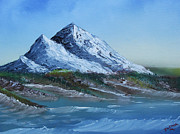 Salt Air Paintings - Majestic Peaks by Jennifer Muller
