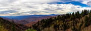 Blue Knob Mountain Prints - Majestic Valley Print by Deborah Scannell