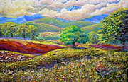 Asymmetrical Originals - Majestic View Of The Blue Ridge After A Storm by Lee Nixon
