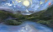Majestik Twilight Print by Jerod  Kytah