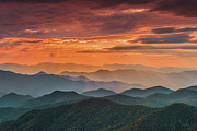 Cowee Mountain Overlook Prints - Majesty. Print by Itai Minovitz