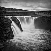 Waterfall Photos - Majesty Of Infernal by Evelina Kremsdorf