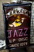 Cd Framed Prints - Majorica Jazz Framed Print by Dean Harte