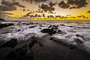 Chris Austin Framed Prints - Makapuu Dawn Framed Print by Chris Austin