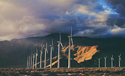 Wind Turbines Framed Prints - Make It Through Framed Print by Laurie Search