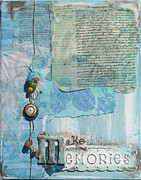 Torn Mixed Media Framed Prints - Make Memories Framed Print by Jennifer Steffen