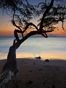 Sunset Seascape Photo Prints - Makena Breeze Print by Mike  Dawson
