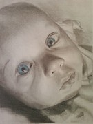 Pencil Work Pastels - Makenna by Lury Norris