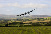 Lancaster Bomber Digital Art - Makeshift Strip by James Biggadike