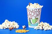 Making Popcorn Print by Paul Ge