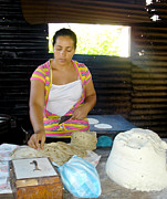 Tortillas Photos - Making Tortillas by Kelvin