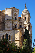 Malaga Photos - Malaga Cathedral by Lutz Baar