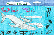 Saving Drawings - Malama I Ka Wai by Jay or Jaz Kelber