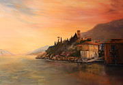 Ports Originals - Malcesine Lake Garda ITALY by Jean Walker