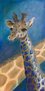 Giraffes Paintings - Malcolm by Lynn Rattray