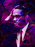 Malcolm X 20140105m88 Print by Wingsdomain Art and Photography