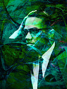 Malcolm X 20140105p138 Print by Wingsdomain Art and Photography