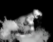 Monochrome Digital Art - Male Dream by Mark Ashkenazi