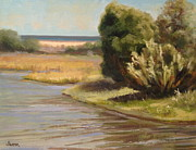 Malibu Lagoon Paintings - Malibu Lagoon by Nita Harper