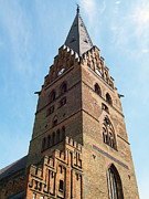 Malmo Prints - Malmo Church 01 Print by Antony McAulay