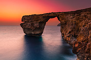 Afterglow Photos - Malta 02 by Tom Uhlenberg