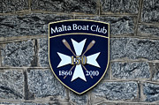 Boathouse Row Photos - Malta Boat Club by Bill Cannon