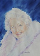 Impressionisttic Paintings - MaMa J by Dodie Davis