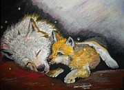 Pup Pastels - Mama Please Wake Up by Maricay Smeenk