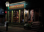 Boston Ma Digital Art Posters - Mamma Maria 1 Poster by John Hoey