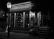 Boston Ma Digital Art Posters - Mamma Maria 2 Poster by John Hoey