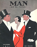 Featured Art - Man And His Clothes 1931 1930s Uk by The Advertising Archives