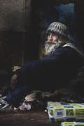 Sheila Smart - Man in woolly hat