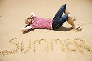 Man Of Summer Print by Ryan Jorgensen