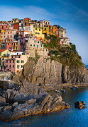Architecture Photos - Manarola Afternoon by Inge Johnsson