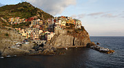 Alex Sukonkin Framed Prints - Manarola Framed Print by Alex Sukonkin