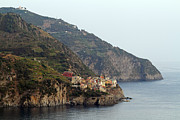 Alex Sukonkin Framed Prints - Manarola landscape Framed Print by Alex Sukonkin