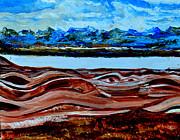 Manas Sarovr Lake-19 Print by Anand Swaroop Manchiraju