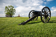 Artillery Metal Prints - Manassas National Battlefield Park Virginia Metal Print by Mark VanDyke