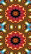 Textural Prints - Mandala 103 for iPhone Double Print by Terry Reynoldson