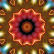 Metaphysical Art - Mandala 103 by Terry Reynoldson